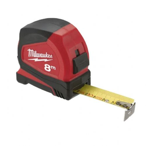 Milwaukee 4932459594 Pro Compact Tape Measure Metric Only 8m (Width 25mm)